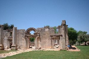 The Ancient Synagogue of Bar'am